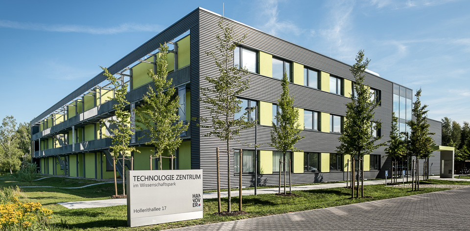 Location of VALO Innovations - Technologiezentrum Hannover