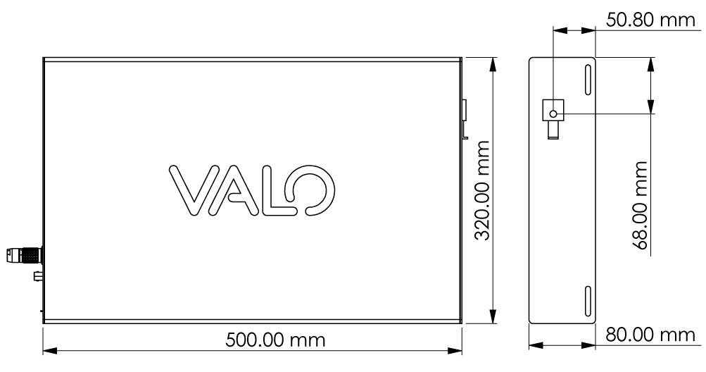 Valo Aalto technical data