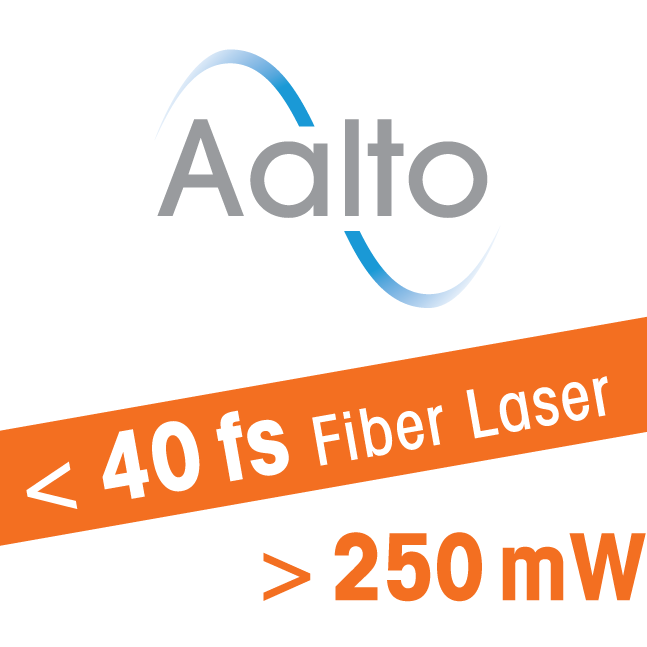 Ultrafast fiber laser for biophotonics and optogenetics - Aalto - sub 40 fs - 250 mW