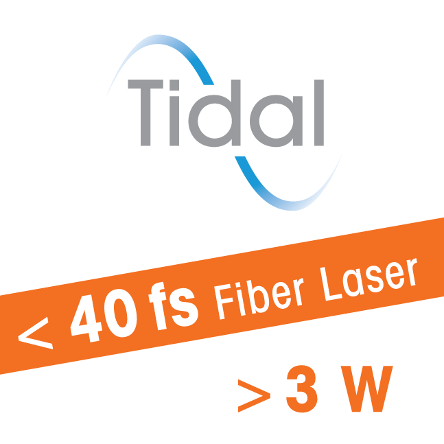 Ultrafast fiber laser for biophotonics and optogenetics - Tidal - sub 40 fs -3 W