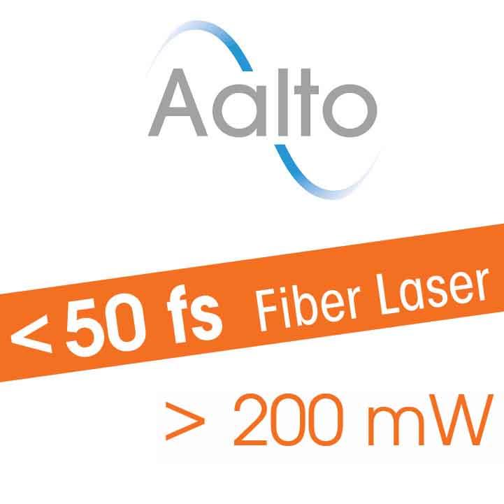 Ultrafast fiber laser for biophotonics, multiphoton microscopy, neuroscience, optogenetics - Aalto- sub 40 fs - 250 mW